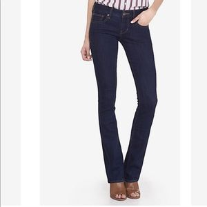 Express Stella Boot Regular Fit Low Rise Jeans
